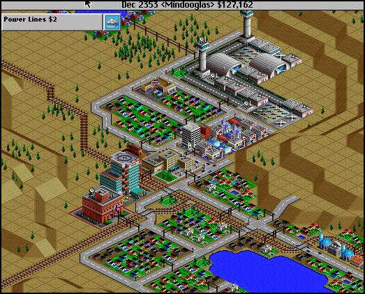 Sim City 2000 Vista